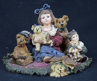 The Dollstone Collection, Kelly & Company...The Bear Collector. Ltd Edition 1999