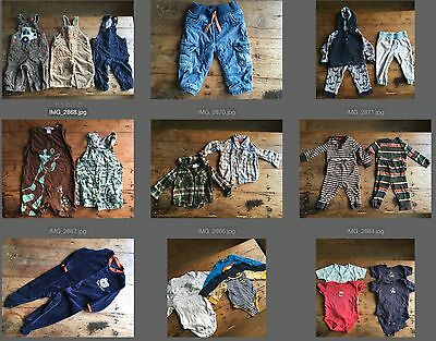 M&S, H&M, Tu large bundle of baby boy clothing 9-12 months | over 20 items