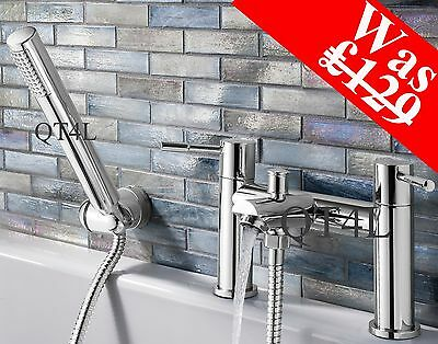 Bath and Shower Mixer Filler Tap BS2  - High Quality Chrome - Was £129