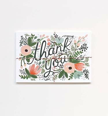 Rifle Paper Co. - Thank You Postcards - Wildflower - Set of 10