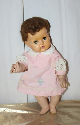 """Vintage American Character Tiny Tears Doll 18"""" Tall"""