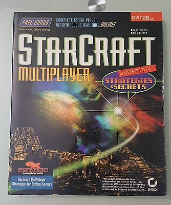 Starcraft Multiplayer Unofficial Strategy Guide & Secrets Sybex Inc