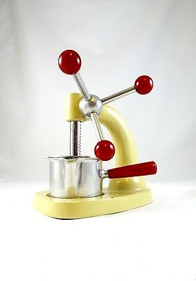 Rare De Stijl Cocktail Juicer Bauhaus 1930 Bar Art Deco Juice Press 30S
