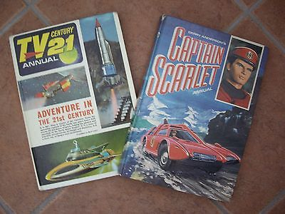 Two Sixties Annuals (Tv Century21)&(Captain Scarlet)