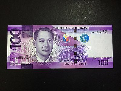 (NEW) Philippines 100 Pesos NGC 2016A Banknote