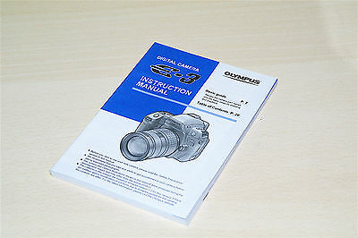 MANUAL ORIGINAL OLYMPUS E-3 E3 INGLES ENGLISH 155 pg.