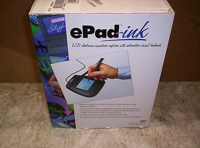 Interlink Epad Ink Signature Capture Tablet with Stylus USB 54-74001 Guaranteed