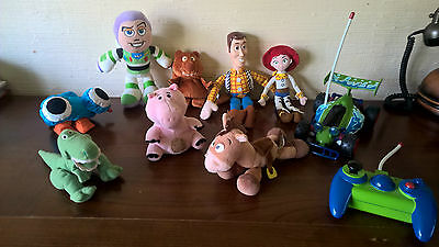 lot toy story disney peluches