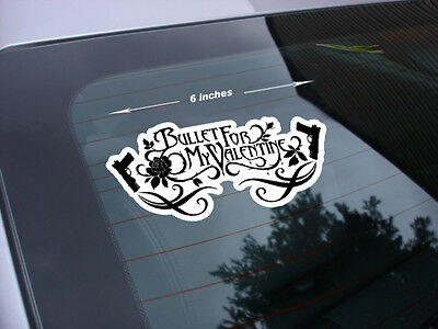 bullet for my valentine rock band decal sticker