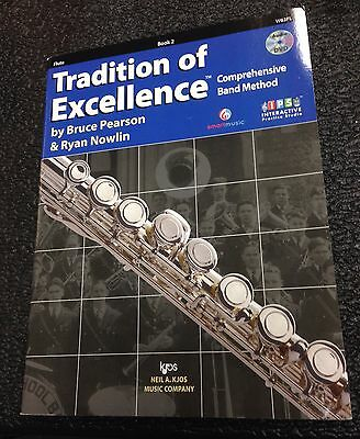 KJOS W62FL Tradition of Excellence - Book 2 - Flute