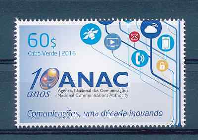 Cabo Verde - 2016 - ANAC / National Communications Authority  - MNH / ( ** )