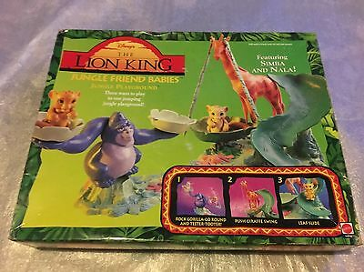 RARE 1994 Disney The Lion King Jungle Friend Babies Jungle PlayGround NEW IN BOX