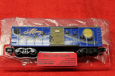 47974 American Flyer 2016 Christmas Boxcar New In Box