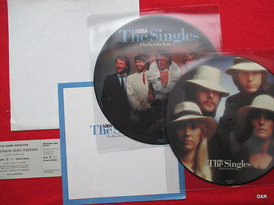 Abba   Picture Disc Record double LP  Box set The first Ten Years