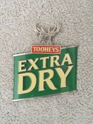 Tooheys Extra Dry Beer Tap Badge, Decal, Top