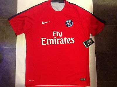 Brand New Mens PSG Football Top
