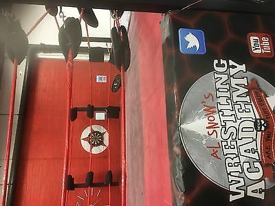 16 Foot double sprung 8 Sided Pro Wrestling Ring