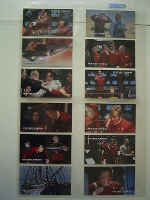 Star Trek Generations Set Of 72  Skybox  1994 Sleeved With Promo Eb1