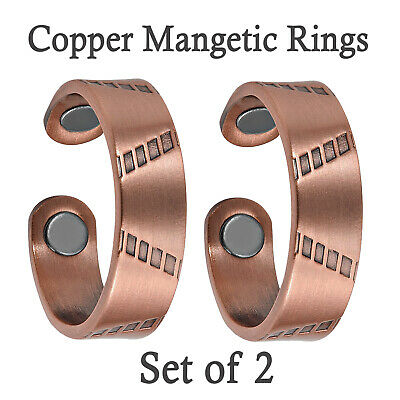 Copper Magnetic Ring BUY 1 GET 1 FREE Powerful Relief 4 Arthritis in Fingers -PY
