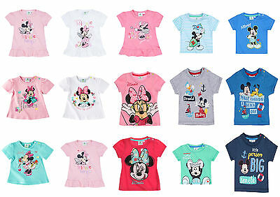 Disney Characters Baby Newborn Infant Boys Girls Top T-shirt 0-24 months