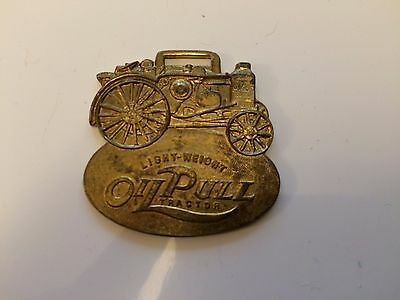 Vintage Advance Rumley Oil Pull Tractor Pocket Watch RAX-8