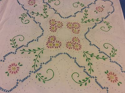 Liquid embroidered  quilt top (AEE)