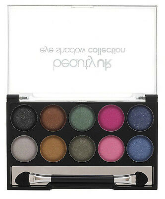 Beauty UK Eye Shadow Palette - 10 Shades - 04 EARTH CHILD - Sealed -