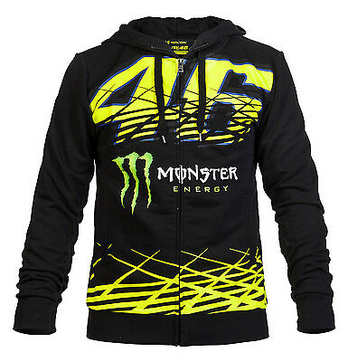 Valentino Rossi Official Monster Monza 46 Hoodie Fleece