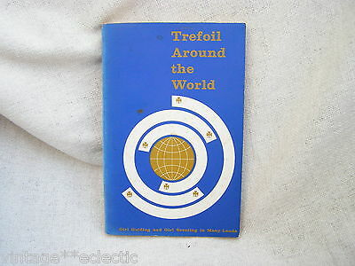 Trefoil Around The World 1958 Edition ~ Girl Guides Scouts