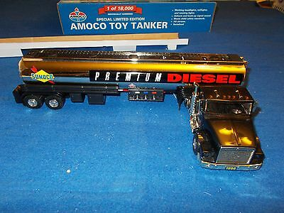 1998 Sunoco Talking Tanker Toy Truck Gold Serial Numbered Limited Edition