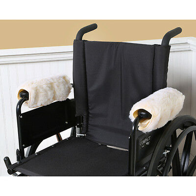 Wheelchair Armrest Covers in Sherpa Fleece - Set of Two