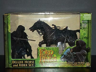 Lord Of The Rings Deluxe Ringwraith and Horse Set - Fully Working Electrics