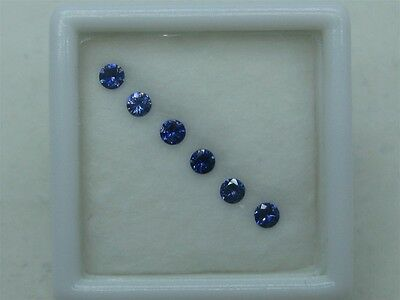 Faceted Benitoite, Calibrated Color Line, 2.25 mm, #bfs225