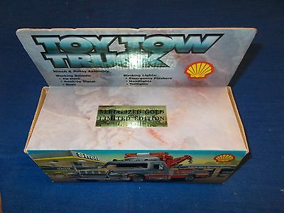1997 Shell Tow Truck Winch And Pulley Assembly Serialized Gold Limited Edition