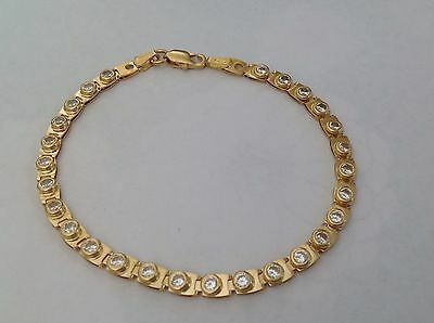 18ct Solid Yellow Gold Bracelet