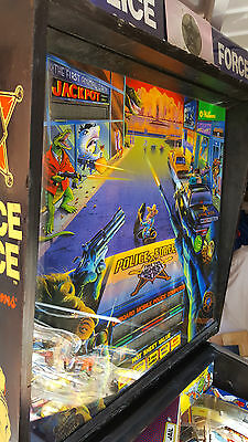 Williams Police Force pinball table