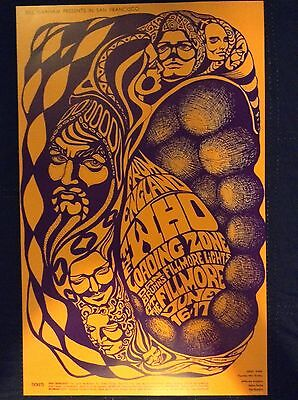 THO WHO FILLMORE CONCERT POSTER- 2nd Pressing - limited to 500 - Mint Cond.