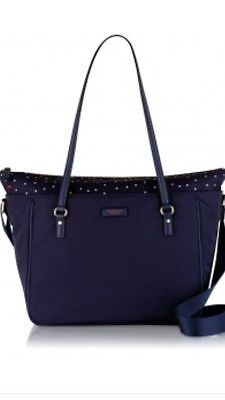 BNWT Radley Cheshire Street Blue Baby Changing Bag With Pull Out Section