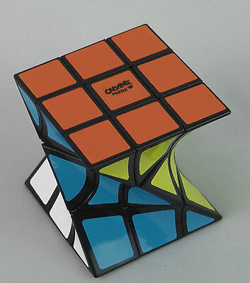 Calvin's Twist cube by Eitan Cher Shapeshifting puzzle