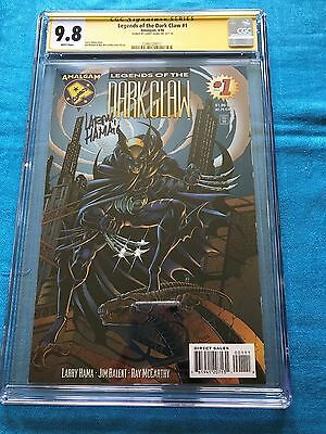 Legends of the Dark Claw #1 - Amalgam - CGC SS 9.8 NM/MT - Signed by Larry Hama
