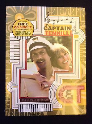 Captain & Tennille - Ultimate Collection (DVD, 2005, 3-Disc Set) Brand New