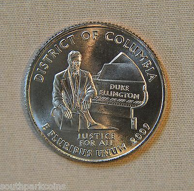 2009-D Uncirc. District of Columbia Territory Quarter - Single