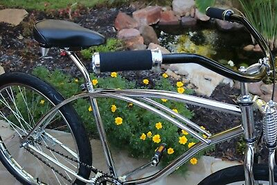 Lay-Back Bicycle Seat Post W//Support Steel 20.7mm Lowrider Beach Cruiser Bikes