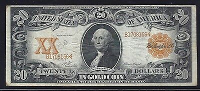 FR. 1181 $20 Gold Cert - Scarce 1906 series Vernon-Treat.  RAW note