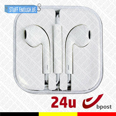 A+ Iphone Ipad Ipod Ear Head Buds Phones Pods Ecouteur  - Mic & Volume Controls