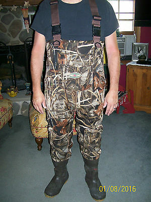 Pro Line Insulated Boot Chest Waders Advantage Max 4 Hd W/removable Liner 11
