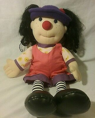 "20"" plush Big Comfy Couch Loonette Molly doll 1997"