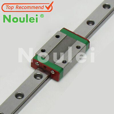 Brand New Noulei MGN9C/12H 100 Mini Linear Guide rails+1pcs Slide Block For CNC