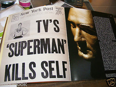 SUPERMAN OMG! 2 CLASSIC BOOKS & A FAILED SUICIDE ATTEMPT etc.In Canada eH?