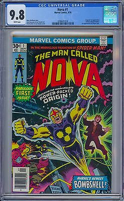 NOVA #1 - CGC 9.8 - White Pages NM/MT - Origin & First NOVA Richard Rider